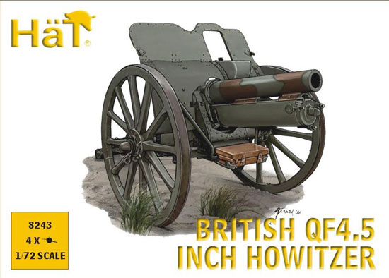 CANON QF4.5 INCH HOWITZER 1/72