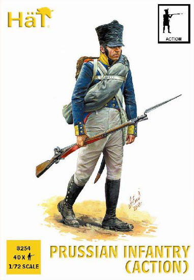 INFANTERIE PRUSSIENNE 1/72