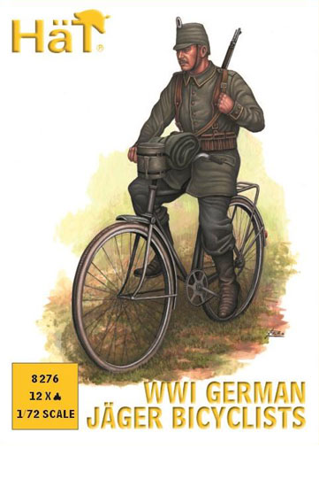 Chasseur Allemand WWI 1/72