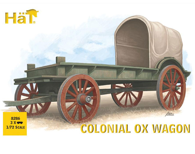 Colonial Ox Wagon 1/72