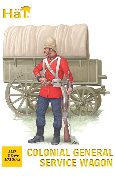 Colonial Service Wagon 1/72