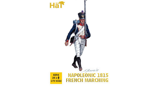 Napoleonic 1815 French Marching