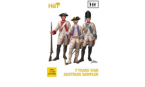 Seven years war Austrians sampler 1/72