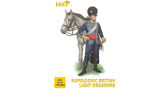 British Light Dragoons 1/72