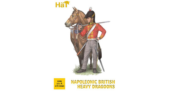 Napoleonic British Heavy Dragoons 1/72