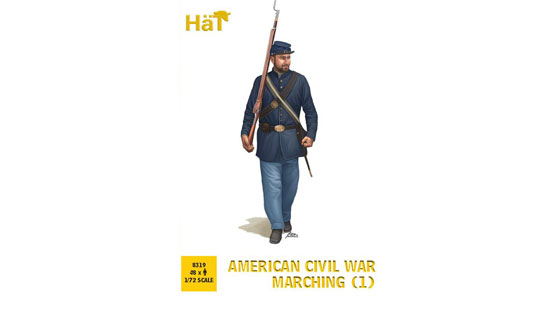 American Civil War Marching (1) 1/72