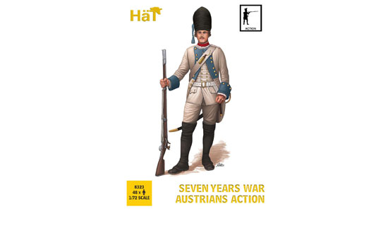 Seven years war Austrians action 1/72