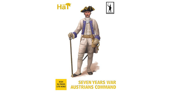 Seven years war Austrians command 1/72