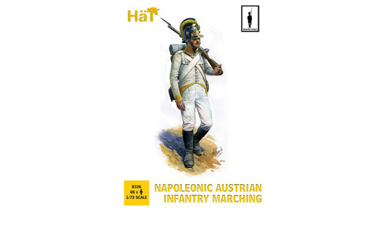Napoleonic Austrian Infantry Marching 1/72