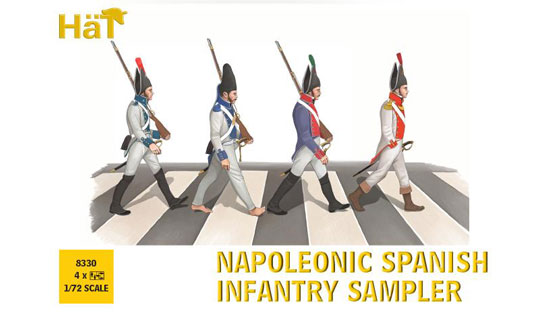 NAPOLEONIC SPANISH INFANTRY SAMPLER 1/72