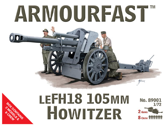 LE FH18 105mm Howitzer 1/72