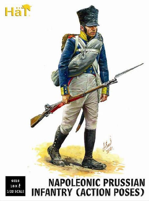 INFANTERIE PRUSSIENNE 1/32