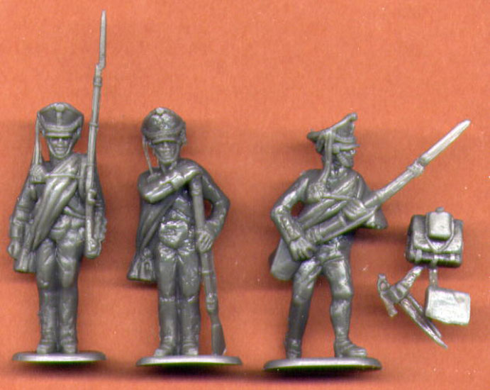 INFANTERIE RUSSE ACTION 1/32