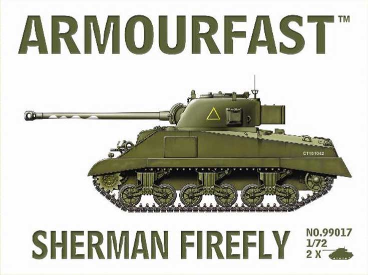 SHERMAN FIREFLY (2pcs)   1/72