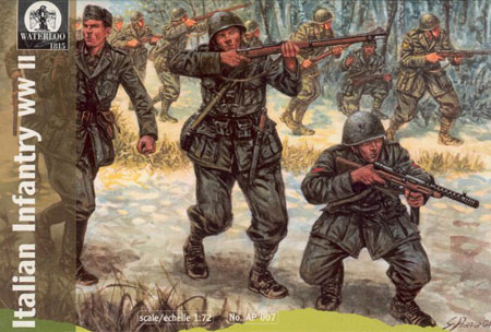 INFANTERIE ITALIENNE DDAY 1/72