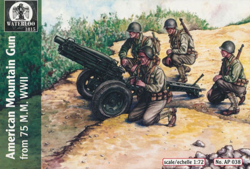 CANON 75mm US WWII 1/72