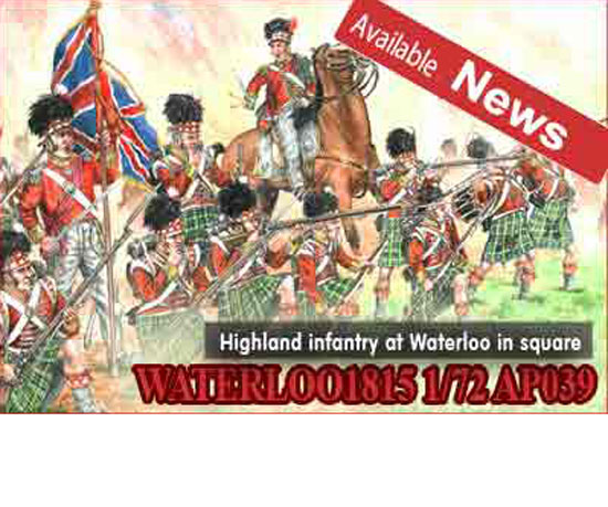 HIGHLAND INFANTRY AT WATERLOO 1/72