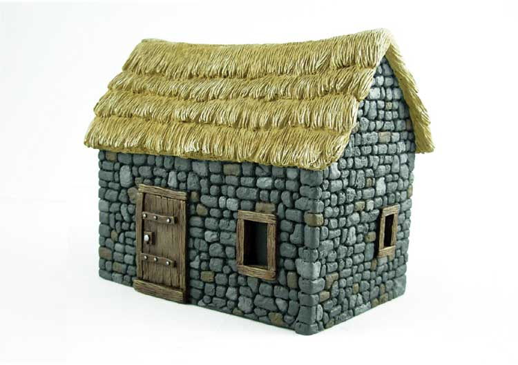 PETIT COTTAGE EN PIERRE  1/48