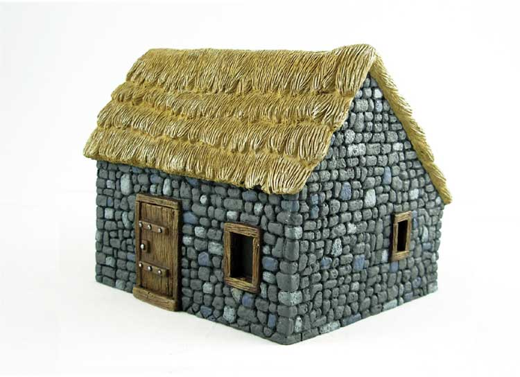 GRAND COTTAGE EN PIERRE  1/48