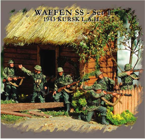 WAFFEN SS 1943 WWII (n°1) 1/72