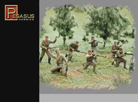 INF. RUSSE ETE WWII 1/72