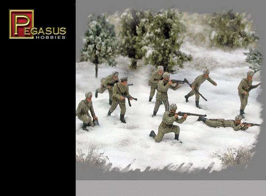 INFANT. RUSSE HIVER WWII 1/72