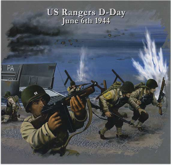 US RANGERS D Day 1/72