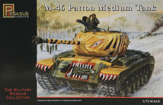 M-46 Patton Medium Tank 1/72
