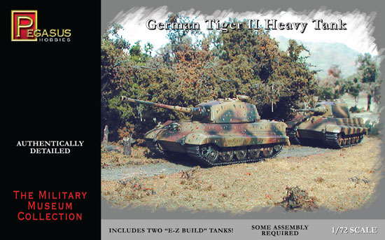 Tiger II Heavy Tank 1/72