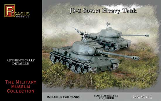 TANK IS-2 1/72 (2 pieces)