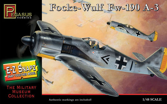 FW 190A-3 Snap Fit 1/48