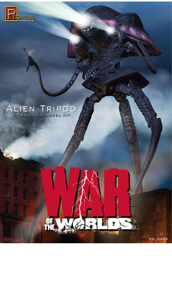 Alien Tripod War of World 1/144