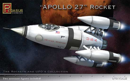 APOLLO 27 ROCKET SHIP 1/72