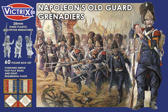 GRENADIERS VIEILLE GARDE 28mm