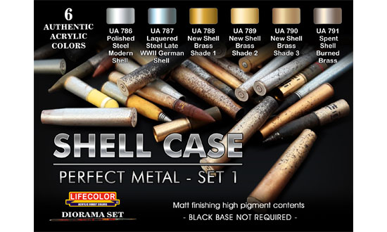 SHELL CASE perfect metal SET 1