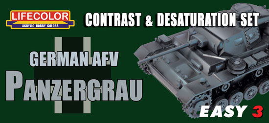 Easy 3 German AFV Panzergrau