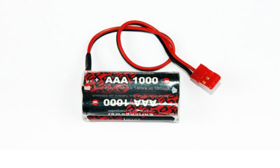 PACK Rx B 4.8V/AAA-1000 JR