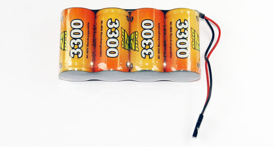PACK Rx S 4.8V/AP-3300UV JR