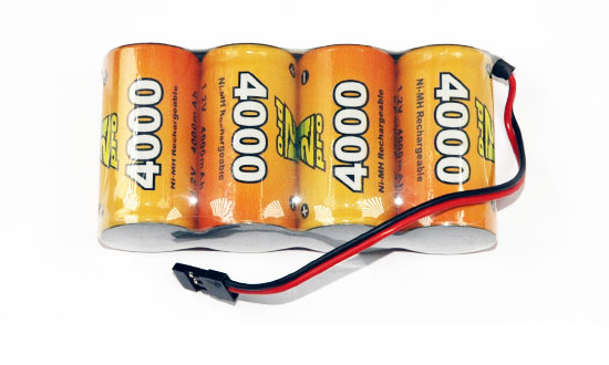 PACK Rx S 4.8V/AP-4000UV JR