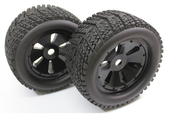 Paire roues  Truggy  1/8
