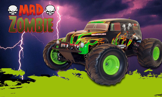 MAD ZOMBIE BR RTR 1/10