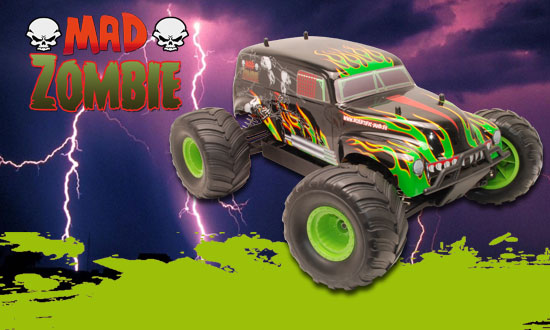 MAD ZOMBIE BL RTR 1/10