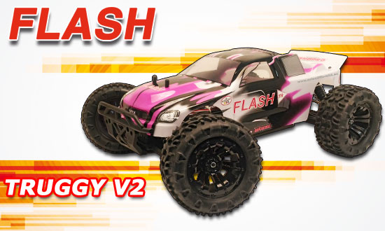 FLASH TRUGGY RTR MHD3S 1/10