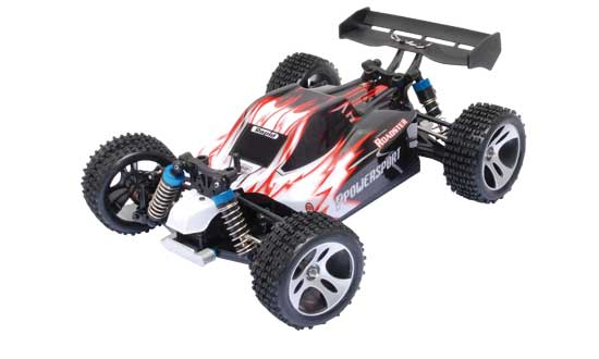 MINI MHD Buggy Rouge 4WD 1/18