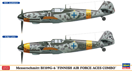"Bf109G-6 ""FINNISH AIR FORCE ACES COMBO"""