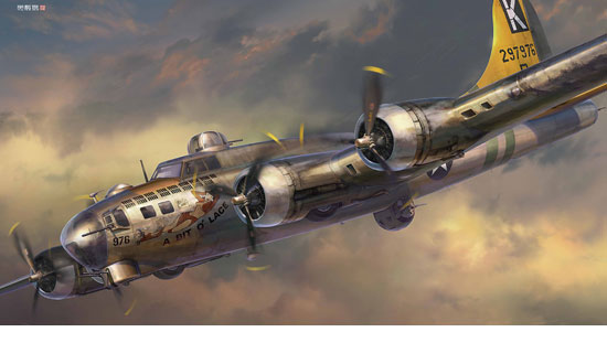 B-17G FLYING FORTRESS 1/72