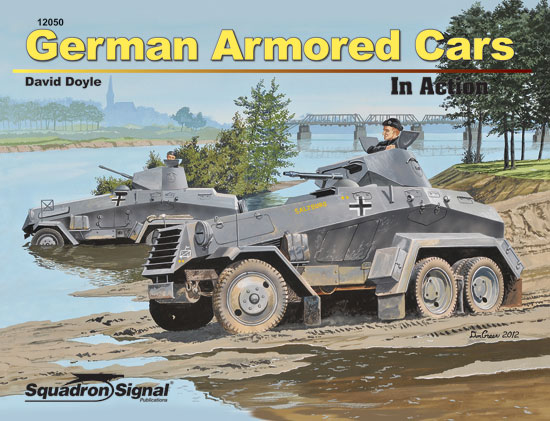 GERMAN ARMORED CARS - IN ACTION - Softcover