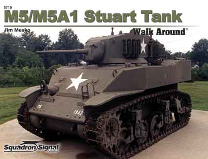 M5/M5A1 STUART WALK AROUND