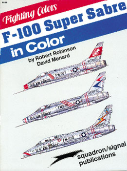 F-100 SUPER SABRE in COLOR