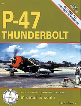 P-47 THUNDERBOLT DETAIL & SCALE